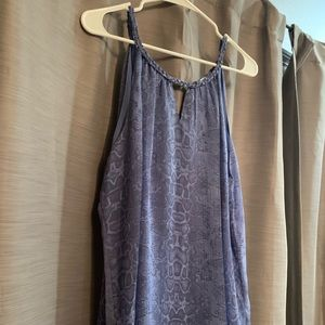 Violet and Claire XL Sleeveless Blue Top